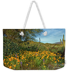 Poppies Abound Weekender Tote Bag by Tom Kelly