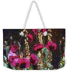 Poppies And Verbascum Weekender Tote Bag by Shirley Stalter