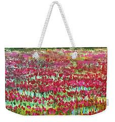 Poppies At Cedar Point Weekender Tote Bag by Jim Phillips