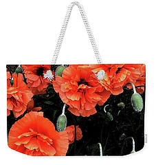 Poppies Weekender Tote Bag by David Pantuso