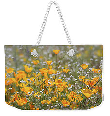 Weekender Tote Bag featuring the photograph Poppies Fields Forever  by Saija Lehtonen
