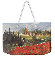 Poppies In Bloom Weekender Tote Bag