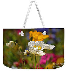 Poppies In The Spring Weekender Tote Bag by Deb Halloran