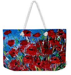 Poppies Weekender Tote Bag