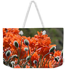 Poppies Weekender Tote Bag