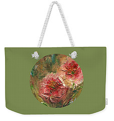 Poppies Weekender Tote Bag by Mary Wolf