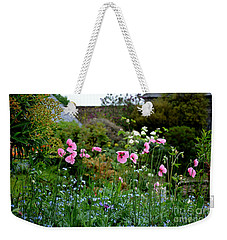 Poppies Of The Great Dixter Weekender Tote Bag by Tanya Searcy