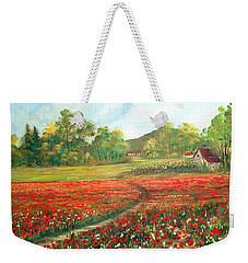Poppies Time Weekender Tote Bag by Dorothy Maier