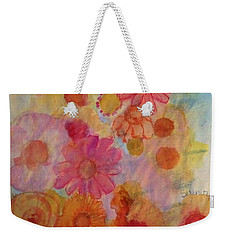 Popping Weekender Tote Bag by Kim Nelson