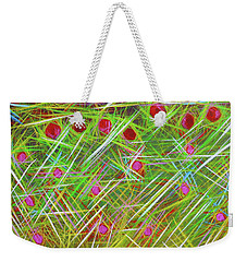 Popping Up Weekender Tote Bag