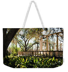 Popp's Fountain Weekender Tote Bag