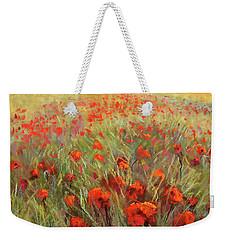 Poppy Dance Weekender Tote Bag