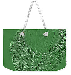 Poppy Embossing  Weekender Tote Bag