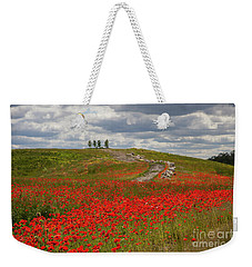 Poppy Field 2 Weekender Tote Bag