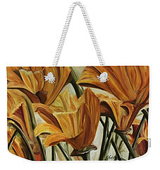 Poppy Field Weekender Tote Bag