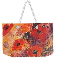 Poppy Glow Weekender Tote Bag
