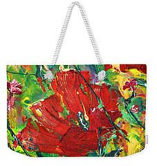 Poppy II Weekender Tote Bag