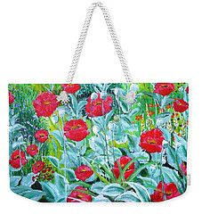Poppy Impression Weekender Tote Bag