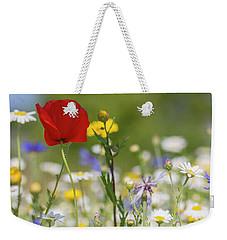Poppy In Meadow  Weekender Tote Bag