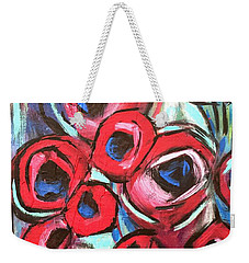 Poppy Love 1 Weekender Tote Bag
