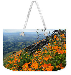 Poppy Mountain  Weekender Tote Bag