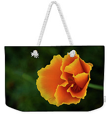 Poppy Orange Weekender Tote Bag