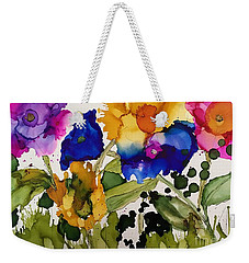 Poppy Party Weekender Tote Bag
