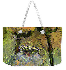 Poppy Pods Weekender Tote Bag by Dragica Micki Fortuna