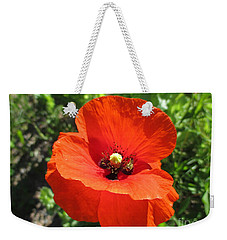 Poppy Power Weekender Tote Bag