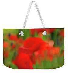 Poppy Scape Weekender Tote Bag