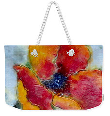 Poppy Smile Weekender Tote Bag