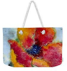 Poppy Smile Weekender Tote Bag