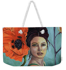 Poppy Updated Photo Weekender Tote Bag