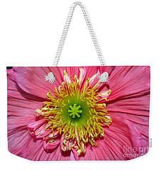 Poppy Weekender Tote Bag by Vivian Krug Cotton