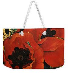 Poppygold Weekender Tote Bag