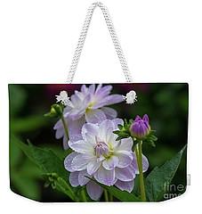 Porcelain Dahlias 2 Weekender Tote Bag