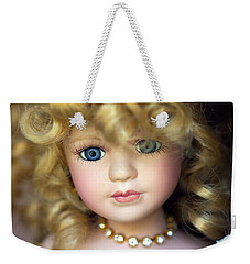 Porcelain Doll Weekender Tote Bag by Joseph Skompski