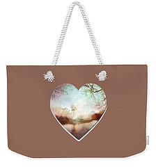 Porcelain Skies Weekender Tote Bag