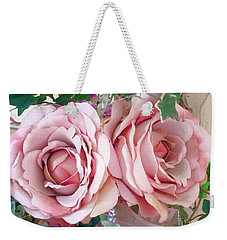 Porch Roses Weekender Tote Bag