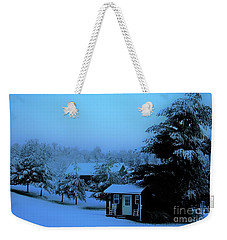Porch Setting, Not Today Weekender Tote Bag
