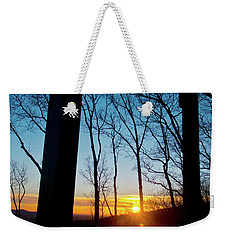 Porch Sunset Weekender Tote Bag