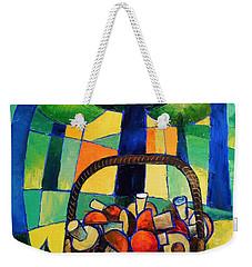 Porcini Weekender Tote Bag by Mikhail Zarovny