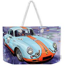 Porsche 356 Gulf Weekender Tote Bag