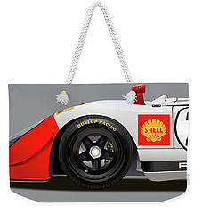 Porsche 908 Detail Illustration Weekender Tote Bag