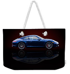 Porsche 911 Carrera - Blue Weekender Tote Bag