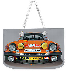 Porsche 914-6 Illustration Weekender Tote Bag