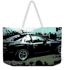 Porsche 944 Weekender Tote Bag by George Pedro