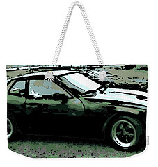 Porsche 944 On A Hot Afternoon Weekender Tote Bag by George Pedro