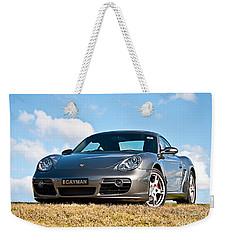 Porsche Cayman Weekender Tote Bag