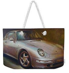 Porsche Weekender Tote Bag by Vali Irina Ciobanu